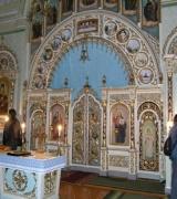 Царські врата, парафіальна церква