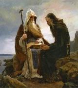 Преподобні Антоній та Феодосій Києво-Печерські